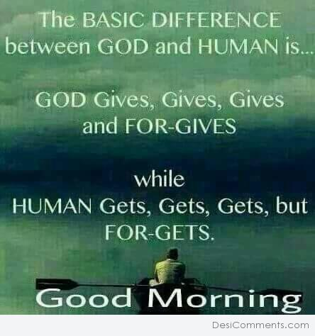 Difference Between God And Human
