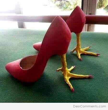 Picture: High Heels Chicken Legs