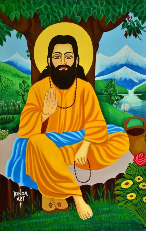 Painting Of Shri Guru Ravidas Ji