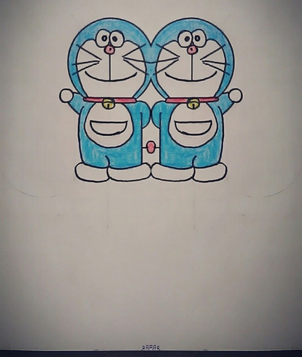 Sketch Of Doraemon