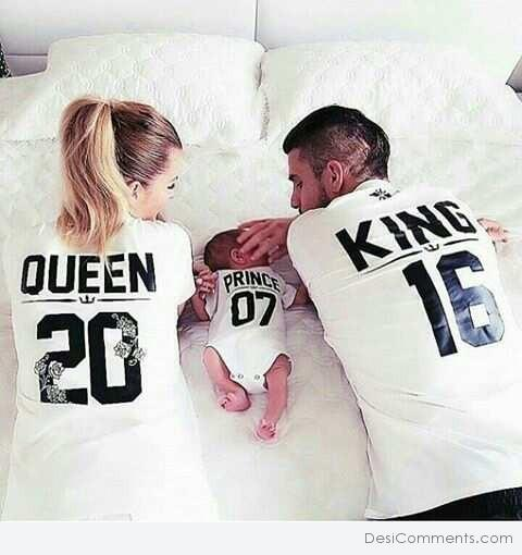 Queen, Prince And King