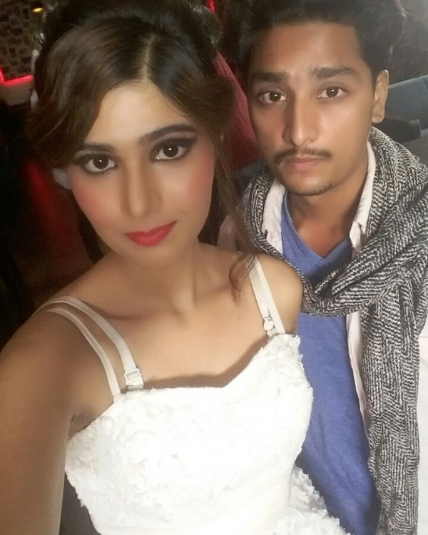 Picture: Paramjit Sidhu With Model
