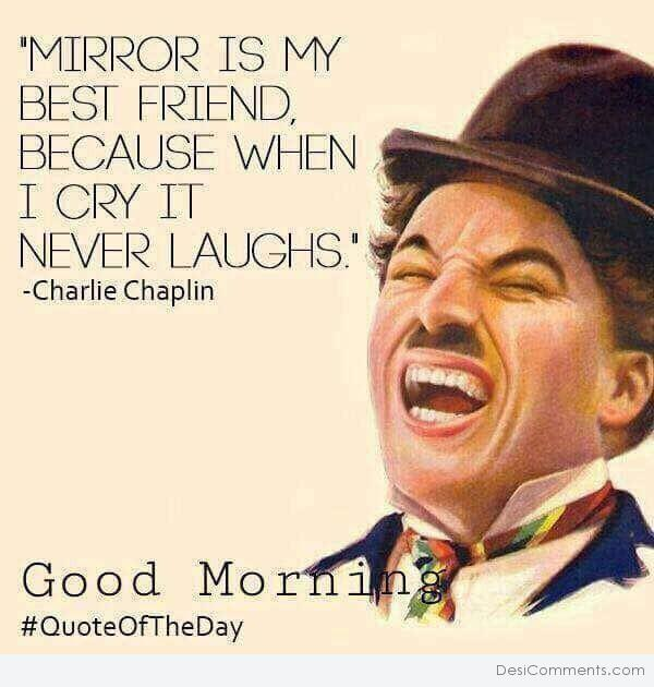 Mirror Is My Best Friend – Good Morning