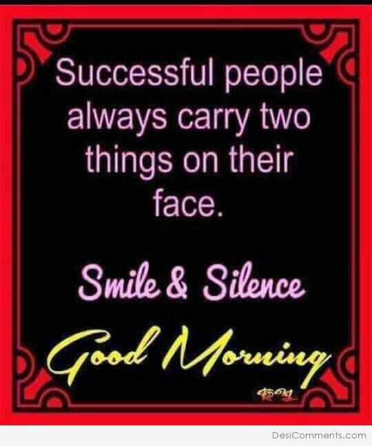 Smile And Silence - Good Morning