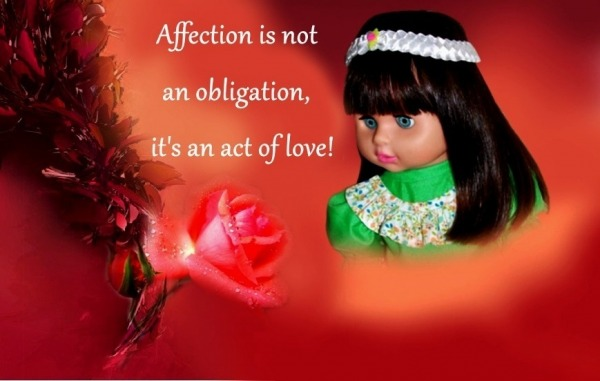 Affection Is Not An Obligation