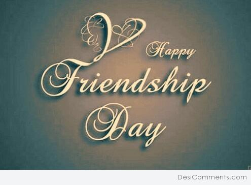 Picture: Image Of Happy Friendship Day