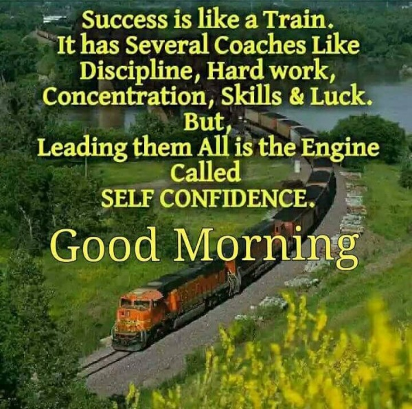 Success Is Like A Train