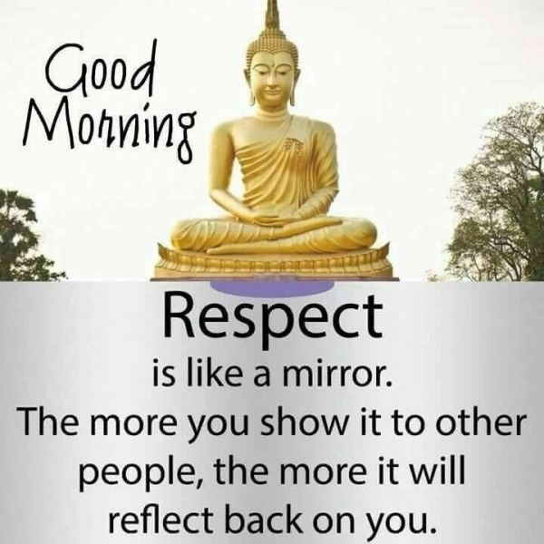 Respect Is Like A Mirror