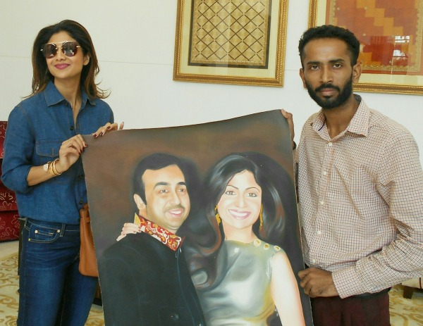 Painting of Shilpa Shetty