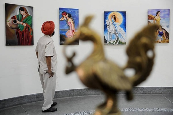Painting Exibhition in amritsar
