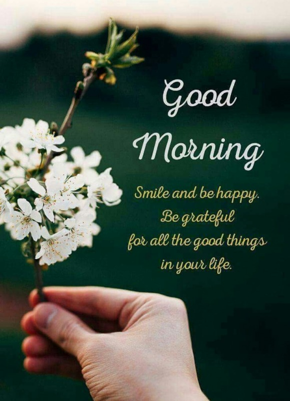 Smile And Be Happy - Good Morning