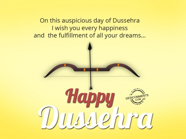 Picture: On this auspicious day of Dussehra..Happy Dussehra