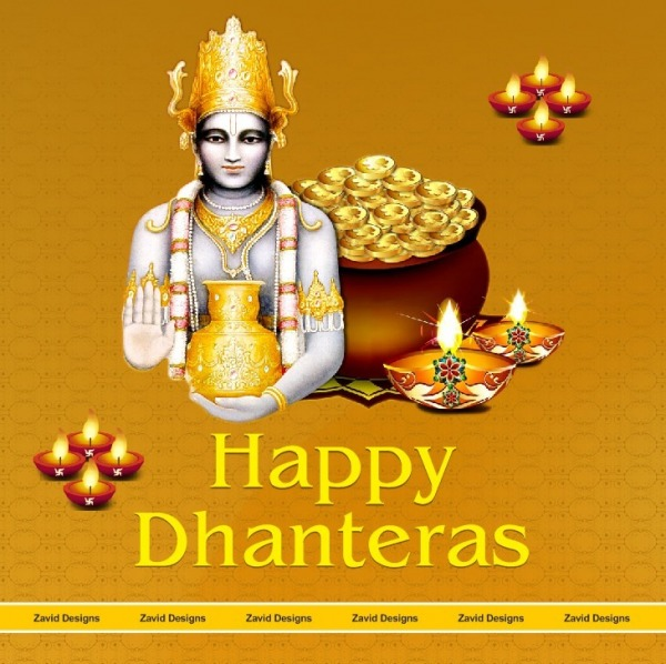 Picture: Image Of Happy Dhanteras