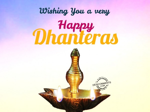 Picture: Wishing you a very happy Dhanteras