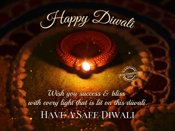 Wish You Success and Bliss with every light