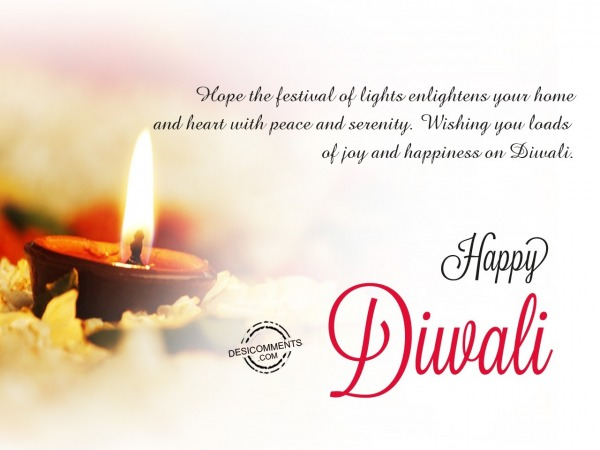 Picture: Hope the festival of lights, Happy Diwali