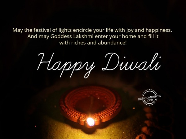 Picture: May the festival of lights, Happy Diwali