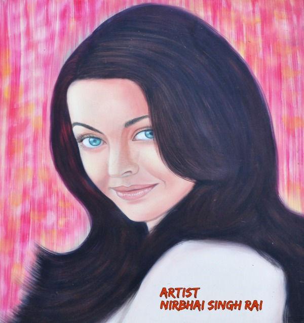 Painting  Of Aishwarya Rai