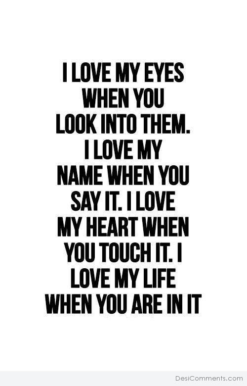 Picture: I Love My Eyes