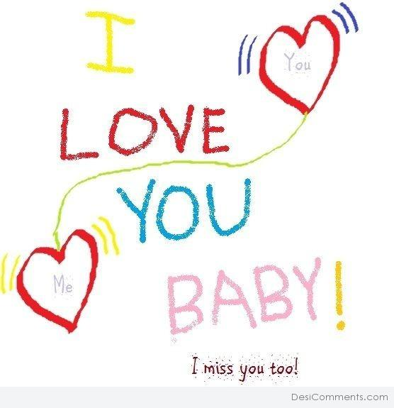 Picture: I Love You Baby