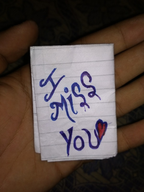 Picture: Image Of I Miss You