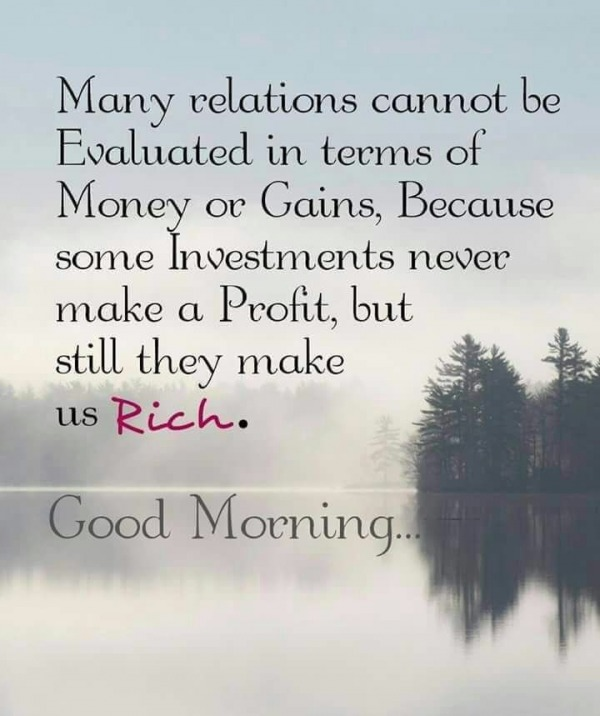 Many Relations - Good Morning
