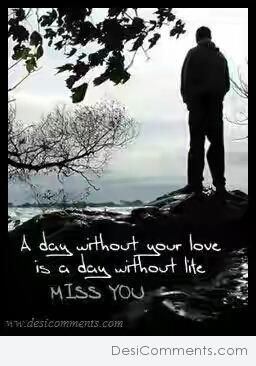 Picture: A Day Without Your Love