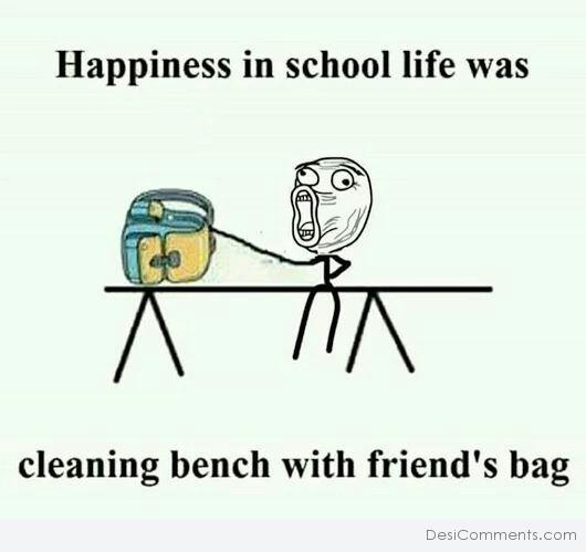 Picture: Happiness In School Life