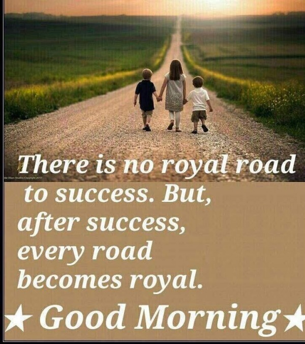 There Is No Royal Road