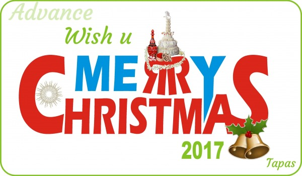 In Advance Wish You Merry Christmas