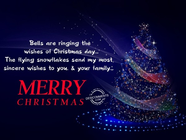 Bells are ringing, Merry Christmas