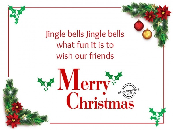 Picture: Jingle bells jingle bells, Merry Christmas