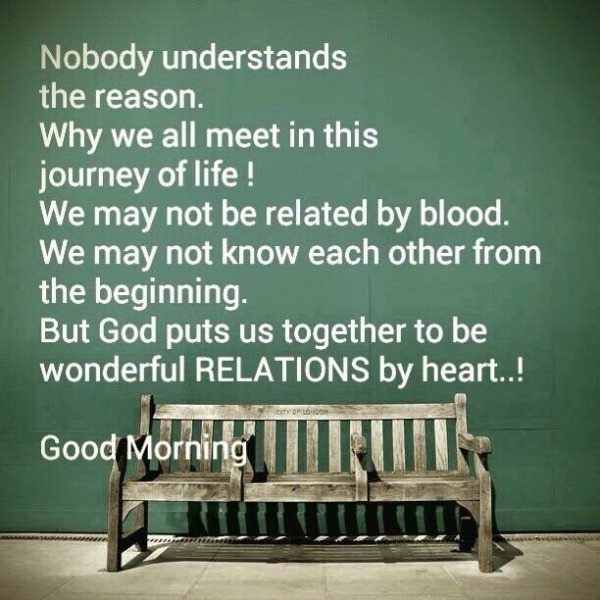 Wonderful Relations By Heart - Good Morning
