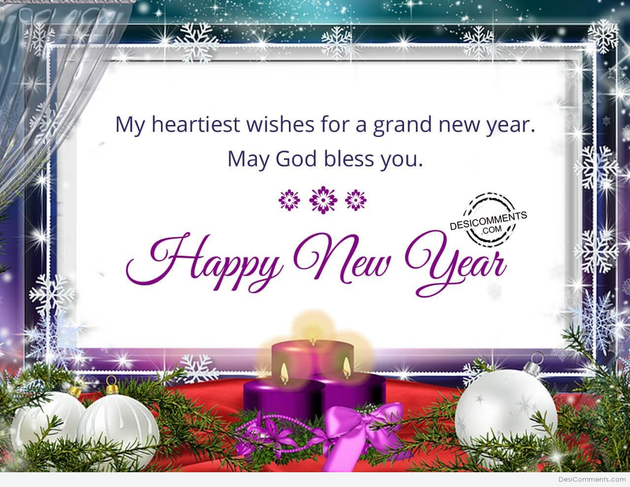 my heartiest wishes for a grand new year happy new year