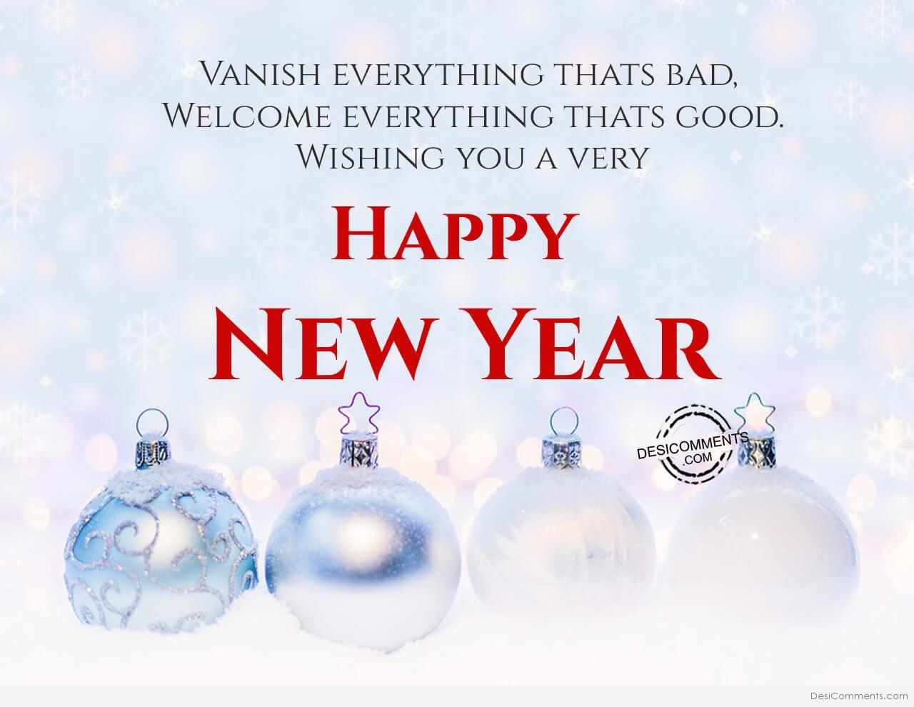 Happy New Year Pictures, Images, Graphics