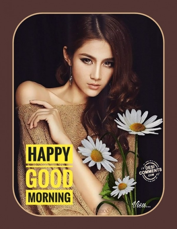 Pic Of Happy Good Morning