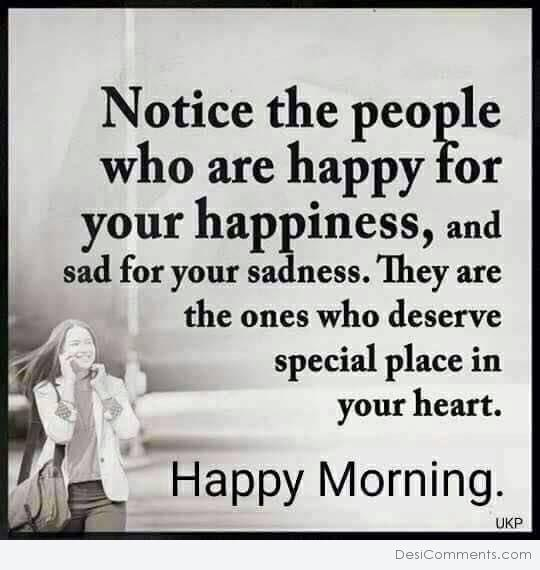 Notice The People - Happy Morning