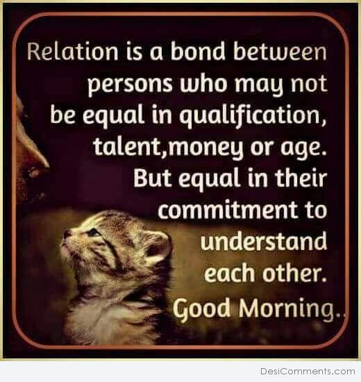 Relation Is A Band - Good Morning