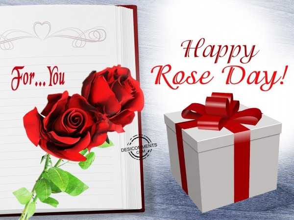 For you…Happy Rose Day,