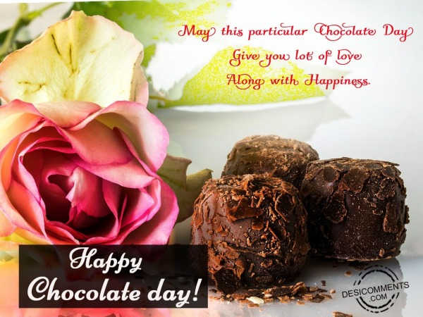 May this particular, Happy Chocolate day