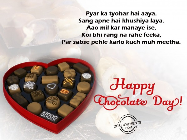 Picture: Pyaar ka tyohar he aaya, Happy Chocolate Day