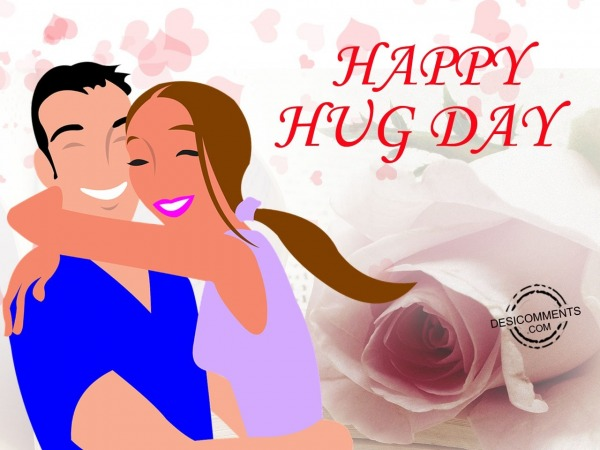 Picture: Very very happy hug day