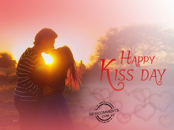 Very Happy Kiss day!