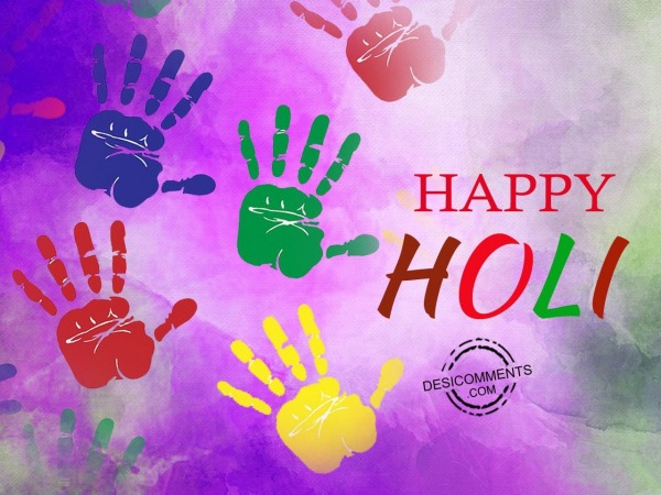 Picture: Happy happy Holi