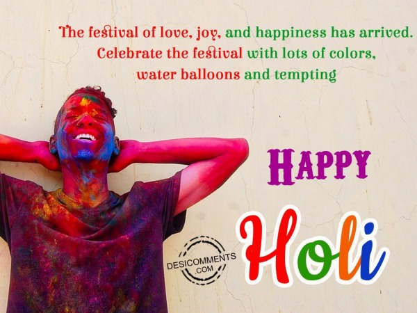 Picture: The festival of love, Happy Holi