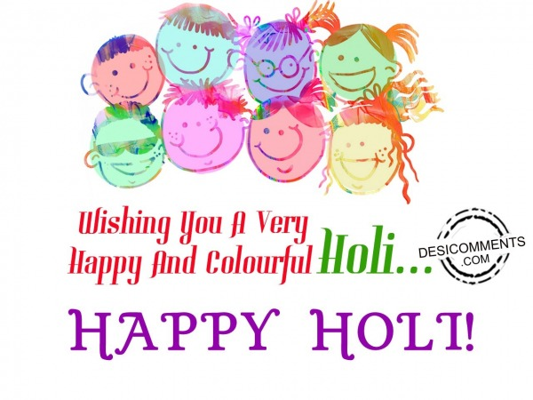 Picture: Very Happy Holi