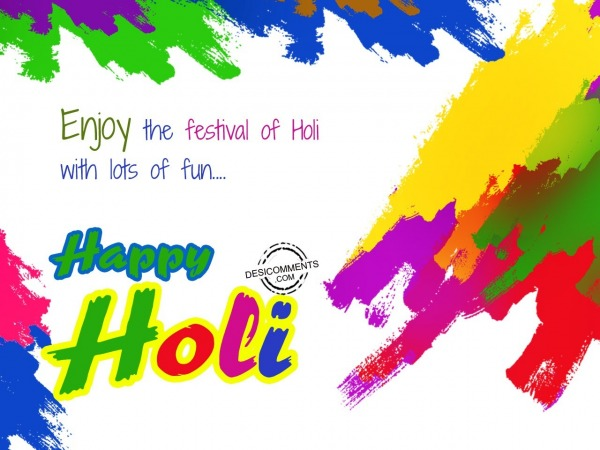 Picture: Enjoy the festival of Holi