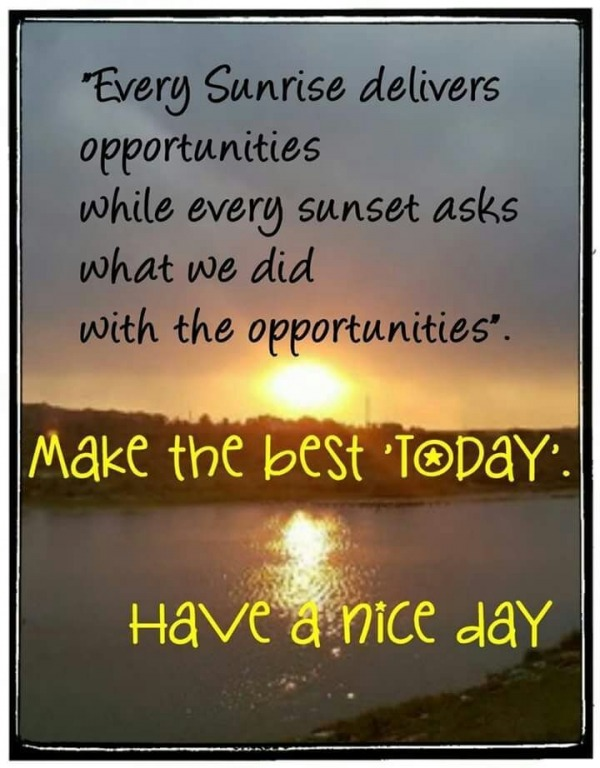 Make The Best Today