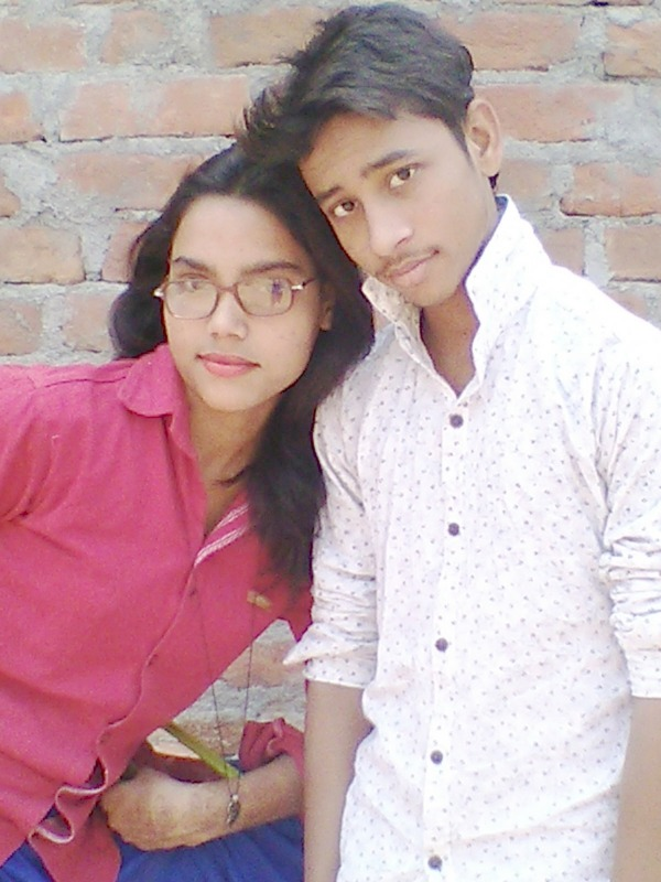 My sister and me..