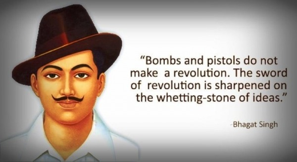 Bombs And Pistols Do Not Make A Revolution